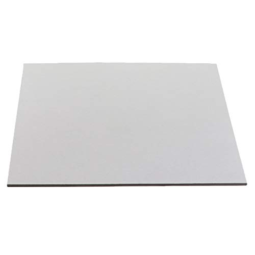 XBaofu 1pc Wärmebett 200x200mm Wärmebett Magnetische Sticker 12v 24v Wärme Bett for 3D-Drucker