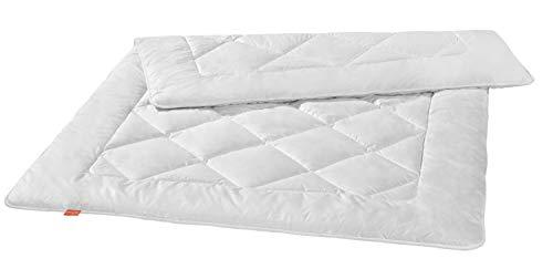 liebling Premium Kamelhaardecke aus 100% Kamelhaar, Wärmeklasse: medium Mono Ganzjahresdecke, 155 x 220 cm, weiß